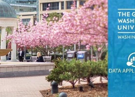 Data Science and Big Data career seminar, at GWU: The trend and job opportunities in Data Science, and on-site recruiting