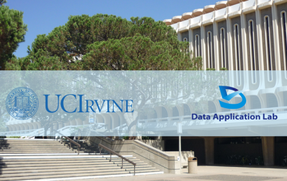 Data Science and Big Data campus tour, at UC Irvine, 2017: The trend and job opportunities in Data Science
