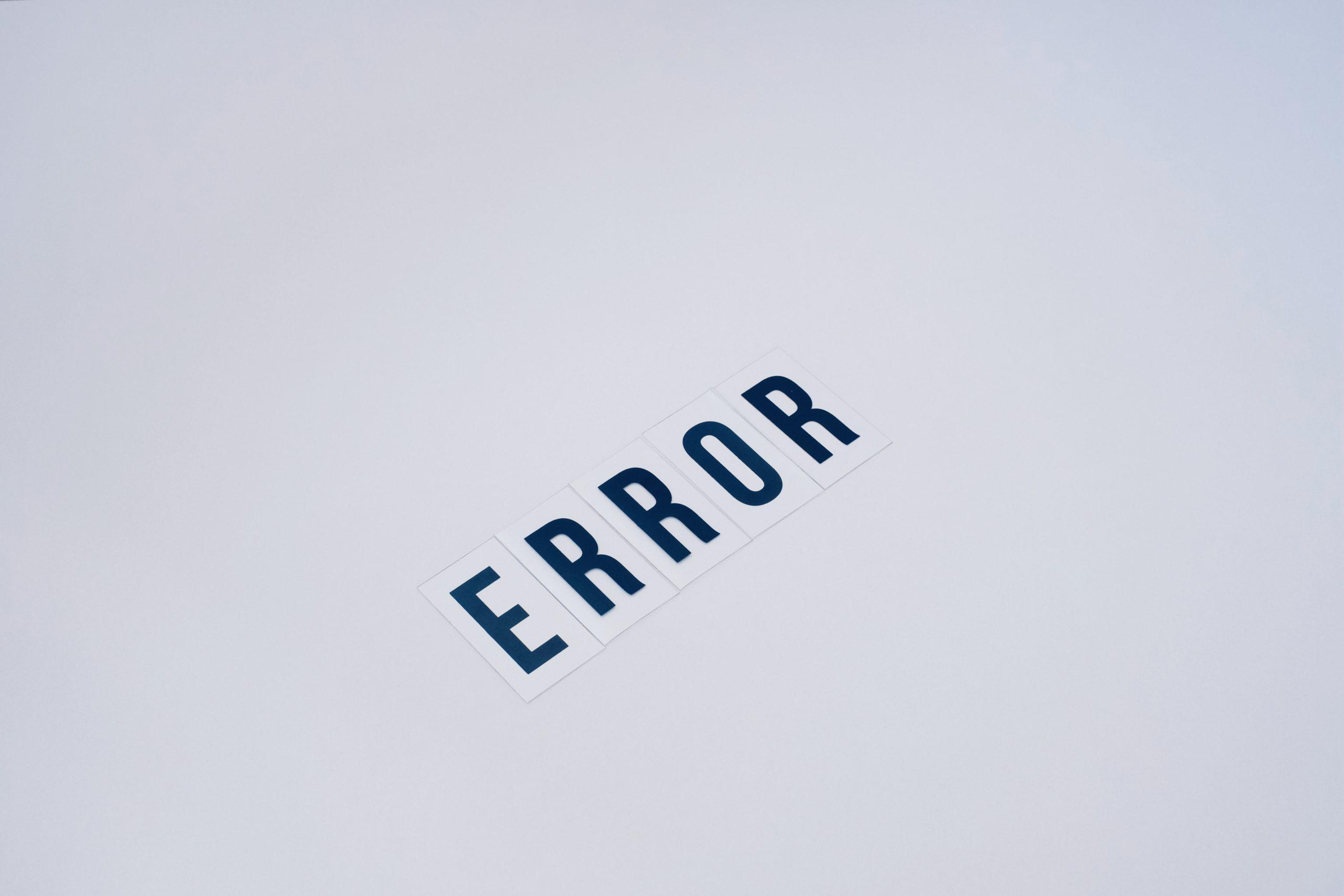 数据科学家六大常见错误