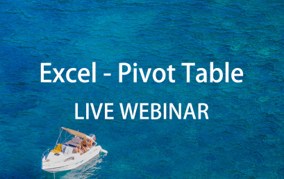 Live Webinar: Pivot Table in Excel Data Analytics