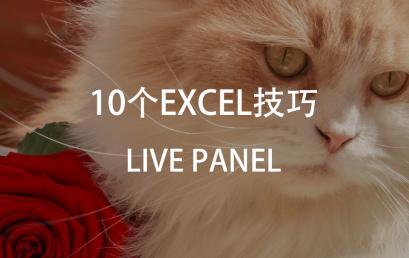 Live Webinar: 10 Skills about Excel