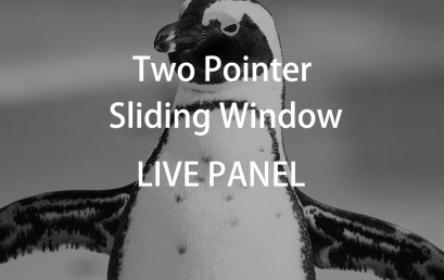 Live Webinar: Knowledge about Two Pointers & Sliding Window Copy