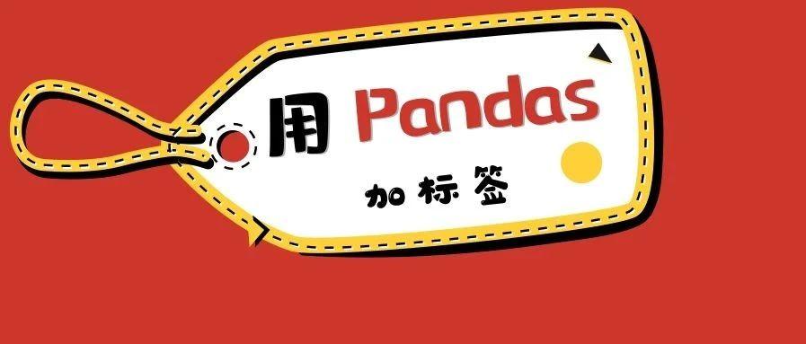 一文上手用Pandas给数据加标签