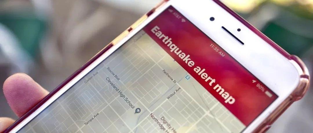 谷歌地震预警系统登陆加州