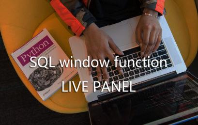 SQL window function